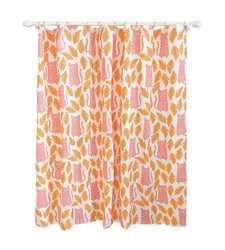 "Pillowfort 72x72"" Cheetah Shower Curtain - Apricot"