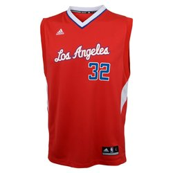 adidas Men's NBA Los Angeles Clippers Blake Griffin #32 Jersey - Red -XL