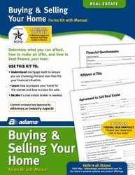 Adams Buying/Selling Your Home Kit, Forms and Instructions (K311)