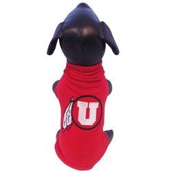 NCAA Utah Runnin Utes Cotton Lycra Dog Tank Top, Tiny