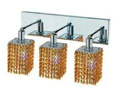 Elegant Lighting 1283W-O-S Mini 15 Inch Bath Vanity Light