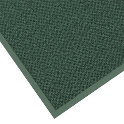 "Notrax 145 Preference Entrance Mat, for Inside Foyer Area and Main Entranceways, 3' Width x 10' Length x 5/16"" Thickness, Hunter Green"