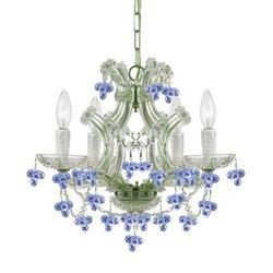 Crystorama Lighting Group 4474-CH-BLUE