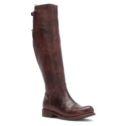 Bed Stu Women's Manchester Knee-High Boots - Teak Rustic - Size: 6.5(M) US