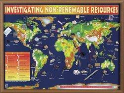 Hubbard Scientific 2565 Investigating Non-Renewable Resources Chart