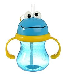 Munchkin 2 Pack Cookie Monster Cup - Blue