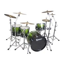 """Premier Drums Series Elite 1-Piece Maple 22""""x16"""" Bass Drum - Apple Sparkle"""