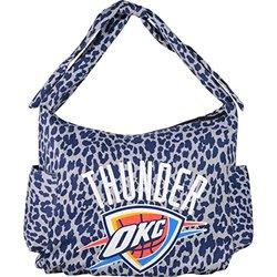 NBA Oklahoma City Thunder Hb Mendoza Backpack, One Size, Navy