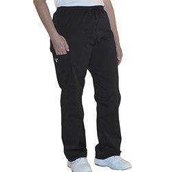 "myGuardian with Vestex Protection 504_BK_4XL Unisex Scrub Pants, 31"", Black"