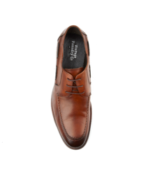 Vintage Foundry Men's Panda Plain Toe Shoes - Tan - Size: 11