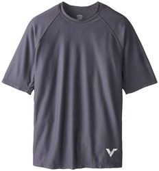 Victory KoreDry Men's Short Sleeve T-Shirt - Charcoal - Size: Large