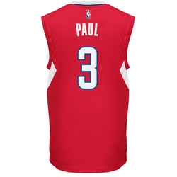 adidas Men's NBA Los Angeles Clippers Chris Paul Replica Jersey - Red/XXL