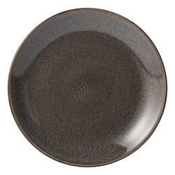 Threshold Belmont Stoneware Reactive Salad Plate Set - Pack of 4 - Grey