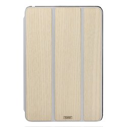 Toast Real Wood White-Washed Ash Smart Case for iPad mini