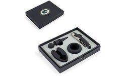 Picnic Time Bay Packers Metro Wine Tools green
