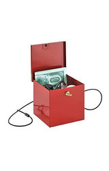 MMF Industries  STEELMASTER  Soho Collection  Store-It Box; Red
