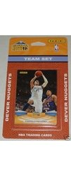 2009 10 Panini Basketball Cards Denver Nuggets - Set of 11