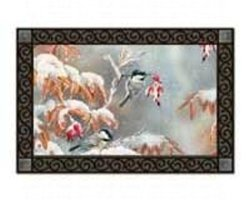 Magnet Works, Ltd MAIL15964 Winter Day Chickadees MatMate
