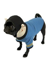 Star Trek Spock Hooded Dog Uniform - Large