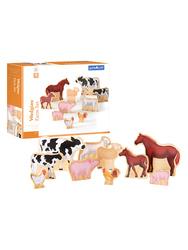 Guidecraft Wedgies Farm Animals Set G1122 996472