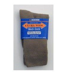 Extra Wide Sock Company #4850W Tan Extra Wide Medi Sock