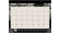 "Acco AT-A-GLANCE 22"" x 17"" 2016 Lacey Monthly Desk Pad (D142-704_16)"