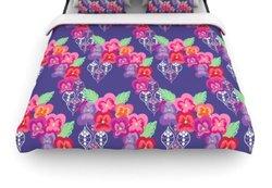 KESS InHouse ''Beautifully Boho'' Woven Comforter Duvet Cover