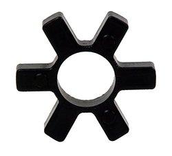 "Lovejoy 68514412612 L276 SOX Rubber Spider - Open Center - 1-3/4"" - Black"