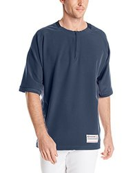 Easton Men's Short Sleeve M9 Cage Jacket - Navy - Size: Small