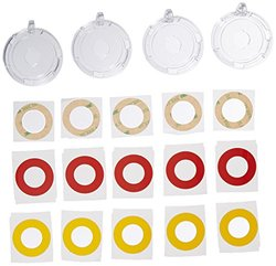 Brady 130822 Push Button Lockout Base, Plastic, 16 mm