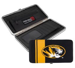 NCAA Missouri Tigers Shell Mesh Wallet