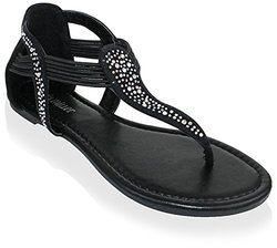 Vicenza Sandals: Black/7