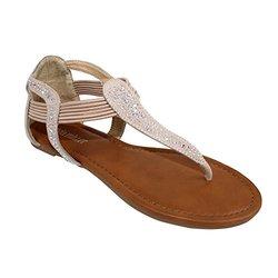 Vicenza Sandals: Beige/7