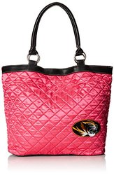 NCAA Missouri, Pink Quilted Tote