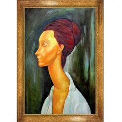Tori Home Lunia Czechovska by Modigliani Framed Original Painting