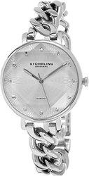 Stuhrling Original Women's Diamond Chain Link Bracelet Watch