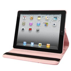 Natico Faux Leather Cover Case For iPad; Light Pink