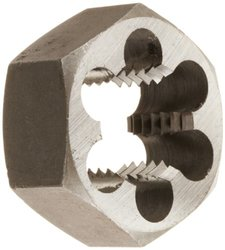 "1-1/4""-7 Carbon Steel Hex Rethreading Die"
