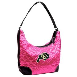 MLB Colorado Springs Sky Sox Pink Quilted Hobo