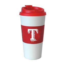 MLB Texas Rangers Sleeved Travel Tumbler, 16-ounce