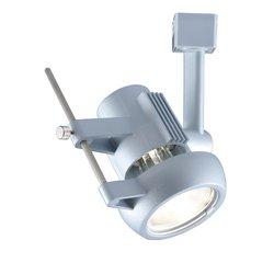 Jesco Lighting JHV270P20-S Contempo Series Line Voltage Track Head for J 2-Wire Single Circuit Track System, Silver