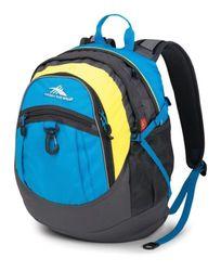"High Sierra Fatboy 19.5"" Daypack Backpack - Blue/Yellow/Black"