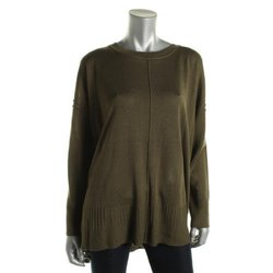 Cupio Women's Pullover Sweater - Spanish Olive - Size: Large