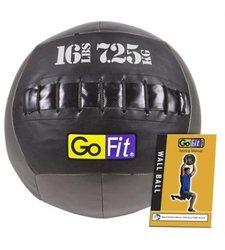 GoFit Wall Ball with Training Manual, 16-Pound - GF-WB16