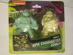 Skyhigh Teenage Mutant Ninja Turtles Character Chalk - Pack of 2