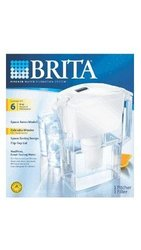 Brita Space Saver Water Filter Pitcher Baby 35528