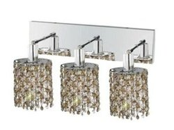 Elegant Lighting 1383W-O-E Mini 15 Inch Bath Vanity Light
