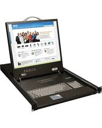 Tripp Lite 8-port Console KVM Switch with 19  LCD