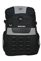 """NHL Boston Bruins Franchise Backpack - 18.5"""" - Black/Grey"""