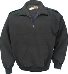 Solar 1 Clothing PS01 Fleece Pullover, Black, Medium